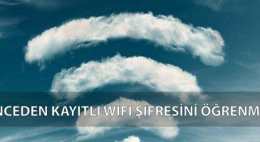 gözükmeyen wifi şifresini öğrenme