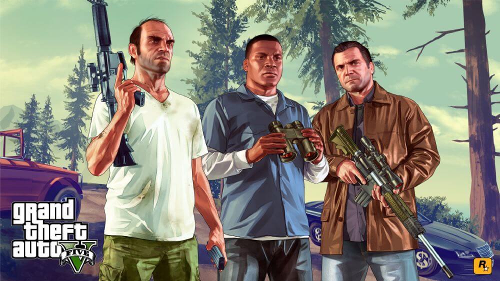 en iyi açık dünya oyunları - GTA5