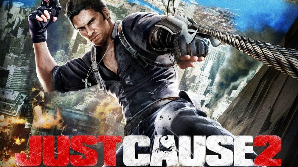 en iyi açık dünya oyunları - Just Cause 2