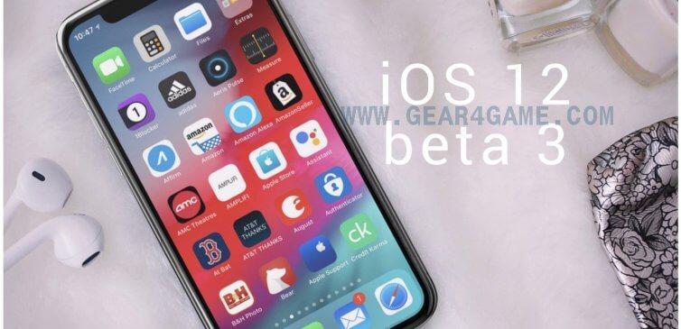 ios 12 beta 3 özellikleri