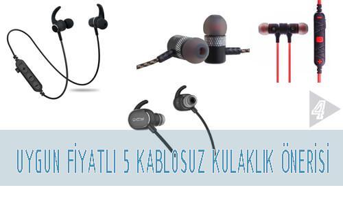 uygun fiyatlı kablosuz kulaklık önerileri