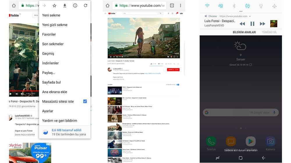 android için youtube arka planda müzik oynatma