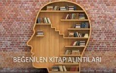 kitaplardan alıntılar ve bilge sözler