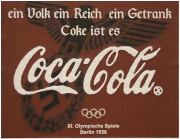 coca cola adolf hitler nazi