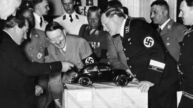porsche volkwagen adolf hitler nazi