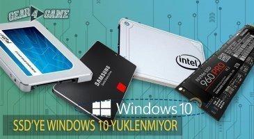 ssdye windows 10 kuramıyorum çözümü