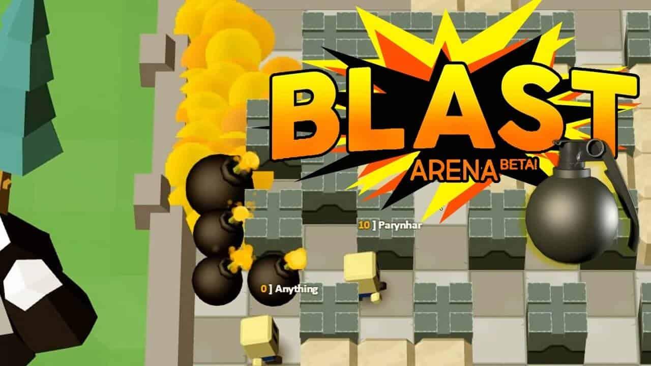 blast arena web tabanlı oyun