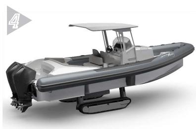 denizde ve karada giden araç