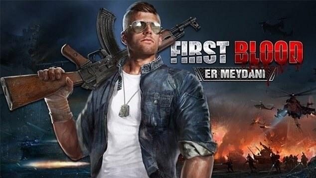 first blood en begenilen online oyun