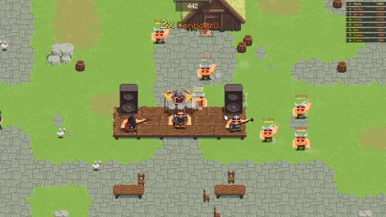 vikings village party hard web tabanlı oyun