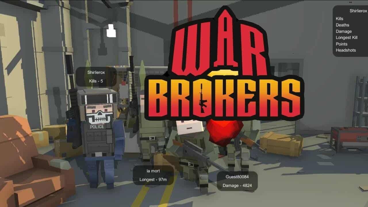 war brokers tarayıcı tabanlı online oyun