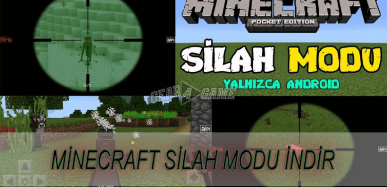 minecraft silah modu android