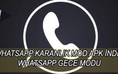 whatsapp karanlık mod apk indir