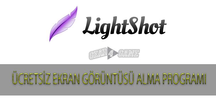 ücretsiz ekran görüntüsü alma programı lightshot