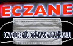 istanbul eczaneden ücretsiz maske almak