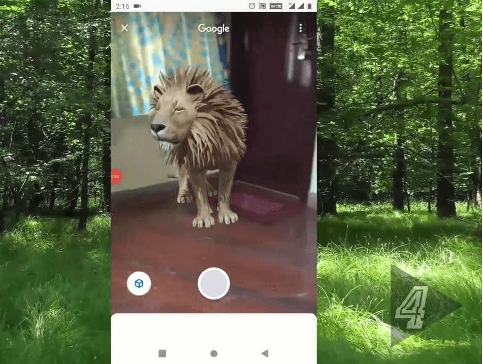aslan 3d kamera